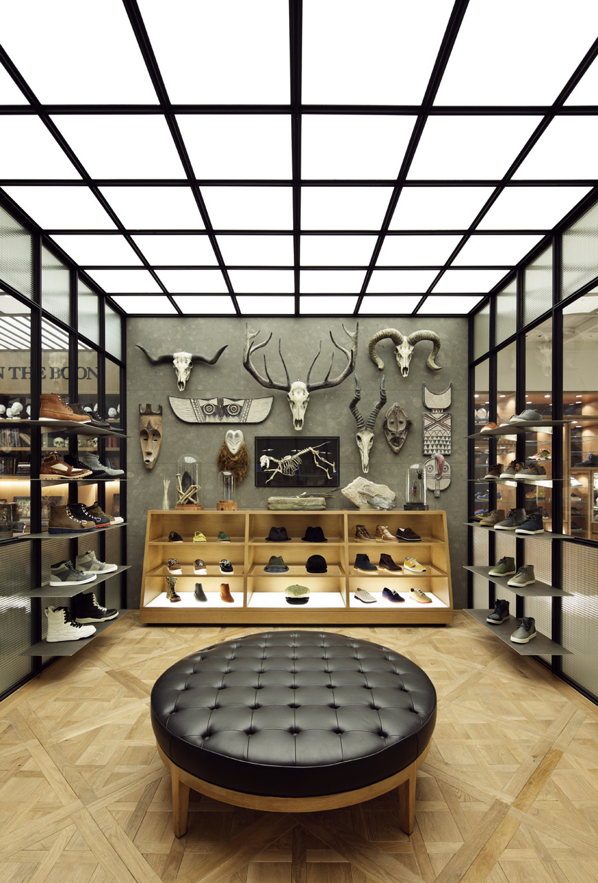 Man on the boon wonderwall - Men s clothing store interior design ideas ...